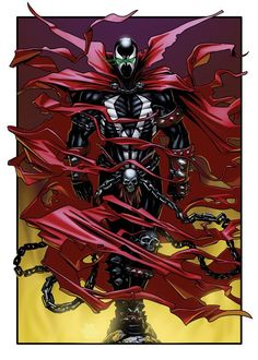 11 x 17 Spawn print by Zach Fischer Comics and Illustration Marvel Comics, Spawn Comics, Anime Comics, Comic Book Characters, Comic Character, Comic Books Art, Fictional Characters, Beetlejuice, Armadura Steampunk