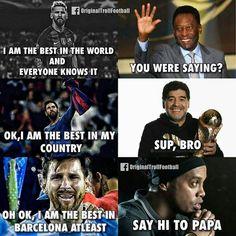 Troll Football - Photos Funny Soccer Pictures, Funny Football Memes, Soccer Jokes, Sports Memes, Nfl Sports, Funny Memes, Troll Football, Nfl Football, Football Photos