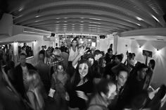 Who Said At The Bars Downstairs We Dont Party? Just Be Ready For Some Serious Table Dancing.Skandinavian Bar Creating Mykonos Memories.