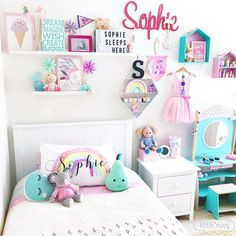 60 Ideas unisex kids room colors baby girls for 2019 Baby Room Decor, Bedroom Decor, Bedroom Ideas, Bedroom Designs, Nursery Ideas, Unisex Kids Room, Fantasy Bedroom, Kids Room Design, Little Girl Rooms