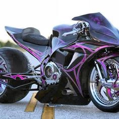 Custom Sports Bike- yes yes yes yes YESSSSS!!!! Omg.... Everything, even down to that rear tire!