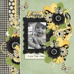 You Make Me Happy Digital Scrapbook Collection [oohlala_happy_collection] - $4.50 : Just So Scrappy Too