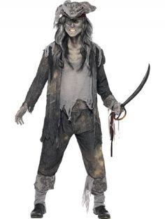 Déguisement de pirate zombie pour homme - Pirates des Caraïbes