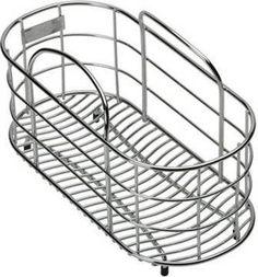 Kitchen Sink Accessories Basket elkay lkwrb wavy wire rinsing basket sink rack | *kitchen & dining