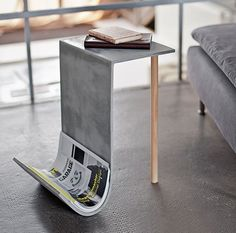 """db - design bunker on Instagram: """"Concrete side table by @betonfusion Go to 👉 @designbunker for more of what you love! #table #concrete #brutalist #concretedesign…"""""""