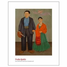 Frida Kahlo - Wedding Print