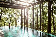 Ananda is an award-winning luxury destination spa in the Himalayan foothills in Northern India. Ananda's 78 rooms, suites and villas are designed with classic elegance in the colonial hill architectural style and blend seamlessly with the lush surrounding landscapes. Escape to this relaxing getaway and book a room today! | Photo Credit: Ananda In The Himalayas