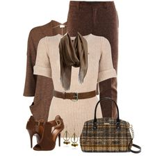 Fringe Scarf, created by daiscat on Polyvore