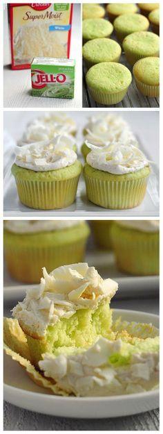 Jello flavored cupcakes