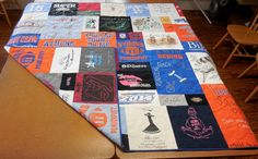 Double-Sided Custom T-Shirt Quilt