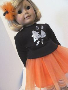 Spooky Tutu Outfit Halloween Costume by fashioned4you on Etsy, $21.00