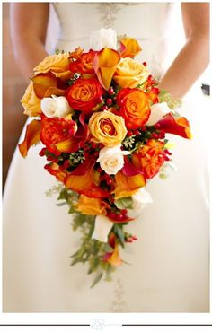 Afbeeldingsresultaat voor wedding theme red orange yellow roses