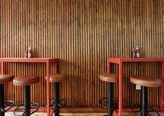 Butchies restaurant by Design, Shoreditch / London – UK Visual Merchandising, London Brick, Retail Solutions, Bar Design Awards, Bar Interior, Brick And Mortar, Retail Space, Design Furniture, Cafe Bar