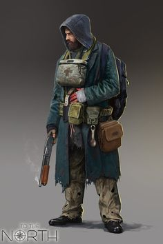 Mellaby: medic of the group. Was a medic that worked closely with the hospital that had the first viral outbreak. Was able to escape and is now working with Mai to get more information what the government is trying to cover up. Post Apocalypse, Apocalypse World, Zombie Survivor, Apocalypse Survivor, Cthulhu, Character Concept, Character Art, Concept Art, Mad Max