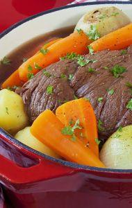 Braised Pot Roast Recipe that Michael Symon shared on The Chew!