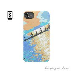 iPhone 5, 4(4S) Case -Rowing/Crew Phone Case. $38.00