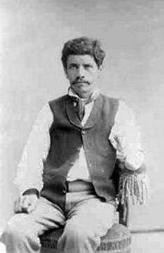 Juan J. Saavedra. Miembro del Regimiento Buin, rango e historial desconocidos.