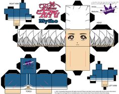 Cubeecraft of Mytho from Princess Tutu Part 1 by SKGaleana.deviantart.com on @DeviantArt