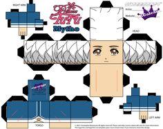 Cubeecraft of Mytho from Princess Tutu Part 1 by SKGaleana.deviantart.com on @DeviantArt