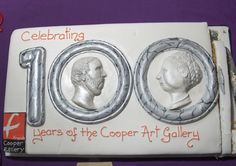 Super cake supplied by Friends of Cooper Gallery