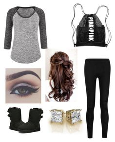 """""""Untitled #16"""" by madisyn022102 on Polyvore featuring maurices, Donna Karan and UGG Australia"""