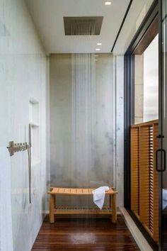Regendouche in de badkamer | Wooninspiratie