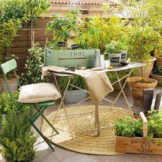 Convierte tu pequeño balcón en un jardín