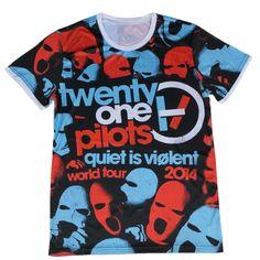 Pizi 21 Pilots Merchandise Twenty One Pilots Shirts for Men