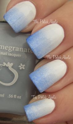 The PolishAholic: Cellairis Nail Art Series #3: Winter Glow Gradient + Giveaway