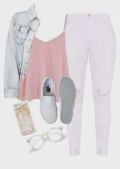 Cute Outfits With Olive Green Jeans lest Cute Outfits With Jean Jackets And Leggings until Cute Summer Outfits For Teenage Girl 2018 after Cute Casual Outfits For School Outfit Jeans, Outfit Stile, Outfit Chic, Legging Outfits, Cute Teen Outfits, Teenage Outfits, Simple Outfits, Stylish Outfits, Work Outfits