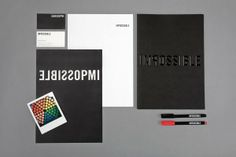 Impossible on Behance