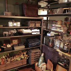 romimushiさんの、棚,見せる収納,アイアンシェルフ,のお部屋写真