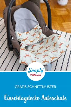 Sew the blanket for Maxi Cosi - Free pattern for a baby car seat cover # sewingfor babies patternfreeb - Sewing Patterns Free, Free Sewing, Sewing Tutorials, Dress Flower, Diy Furniture Videos, Diy Bebe, Diy Clothes Videos, Diy Couture, Blanket Cover