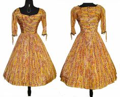 Vintage 1950s Dress  .  50s Dress  .   Mod .  New by VintageDiva60