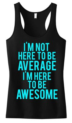 Awesome Motivational #Workout #Tank -- By #NobullWomanApparel, for only $24.99! Click here to buy http://nobullwoman-apparel.com/collections/fitness-tanks-workout-shirts/products/awesome-workout-tank