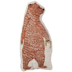 "lucky bear pal |  $20.00   size 4"" x 2"" 
