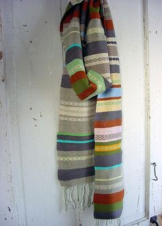 Spearmint Scarf by Avalanche Looms, via Flickr