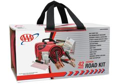 Be ready for sticky situations with AAA's 42 Piece Emergency Road Assistance Kit.