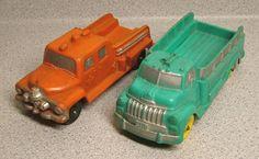 1950 Auburn Rubber Toy Vehicles