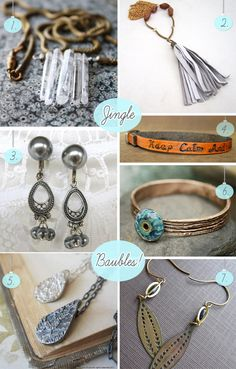 Jewelery baubles