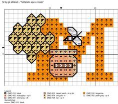 alfabeto ape e miele: M