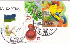 Ukraine Stamps by Mailbox Happiness-Angee at Postcrossing, via Flickr