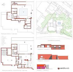 Eduardo Prieto Lopez House dwg - Progetto di Luis Barragàn