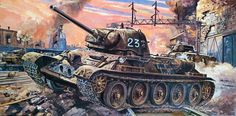 1945 01 T-34_76 Uralmash turret - Tamiya