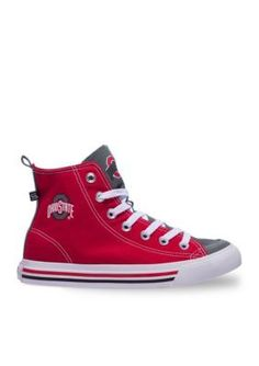 SKICKS   Ohio State University Unisex High Top Sneakers