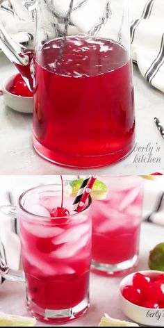 Need a fruity, refreshing drink to ward off the warm temperatures? Then try our easy cherry limeade recipe. It's sweet, tart, bubbly, and so delicious! and drinks quotes Easy Cherry Limeade Recipe Non Alcoholic Drinks, Cocktail Drinks, Cocktail Recipes, Cherry Vodka Drinks, Cherry Drink, Beverages, Cocktails, Refreshing Drinks, Summer Drinks