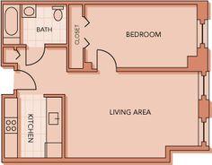 2 Bedroom 420