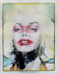 "LOOTONE Live Painting                               ""Marilyn Monroe"""