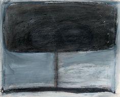 Reino Hietanen: Myrsky, 1990, sekatekniikka, 53x68 cm - Bukowskis