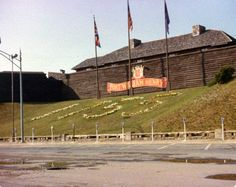 1979 Fort William Henry in Lake George.